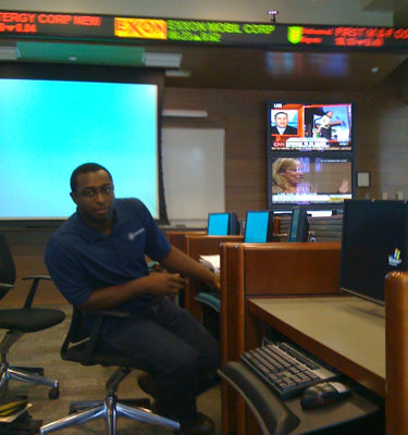 This is Shane, associate director of Burkenroad Equity Reports, in the trading room test driving