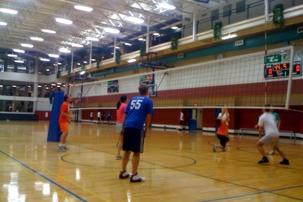 """Bump, Set, Have Some"" – Tulane's MBA Intramural Volleyball Team. So far, we&"