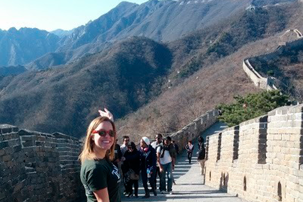 Reminiscence on the China Trip and Final Farewell from Amy