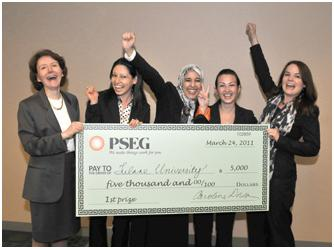 Freeman Ladies Win Case Competition
