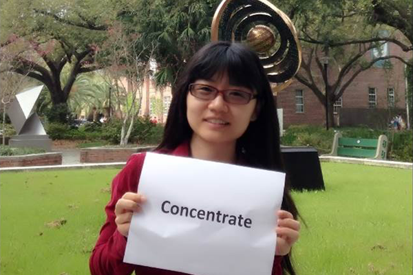 "64. Freeman Means Concentrate: Xi ""Lucy"" Luo (MBA '15)"