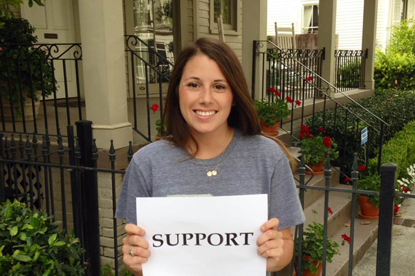 34. Freeman Means Support: Lauren Gutterman (MBA '14)