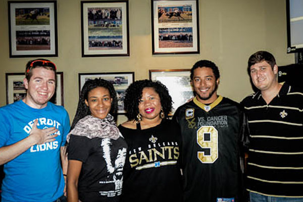 Saints Game Watch Party